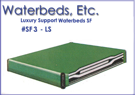 Waterbed Mattresses Luxury Support Free Flow Waterbeds Wood Frame